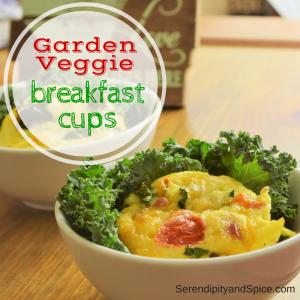 Garden Vegetable Breakfast Cups