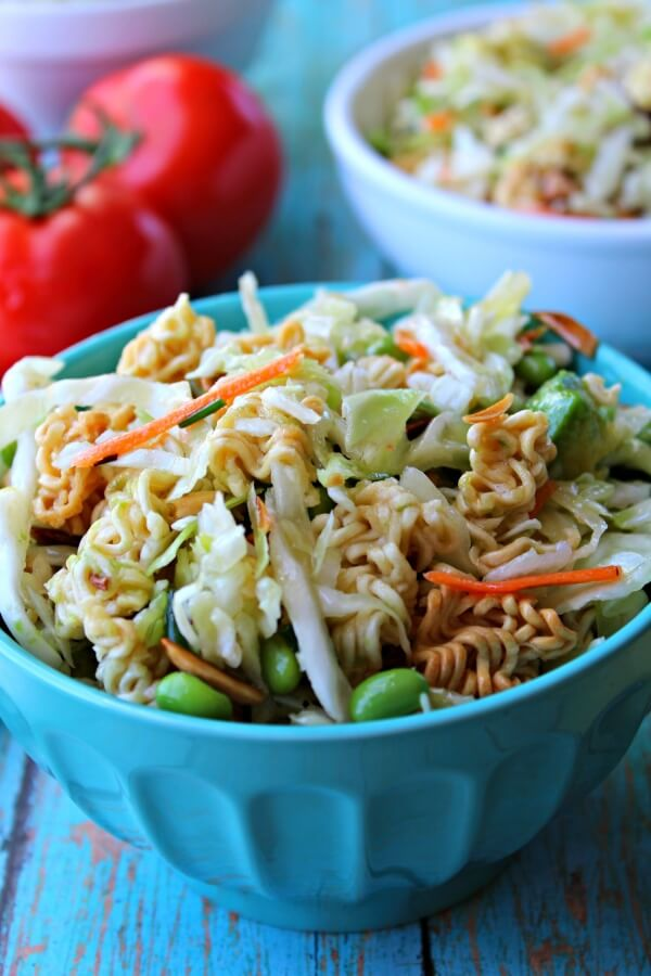 Ramen Noodle Asian Salad