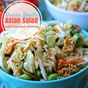 Ramen Noodle Asian Salad