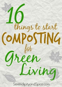 Things to Start Composting for Green Living