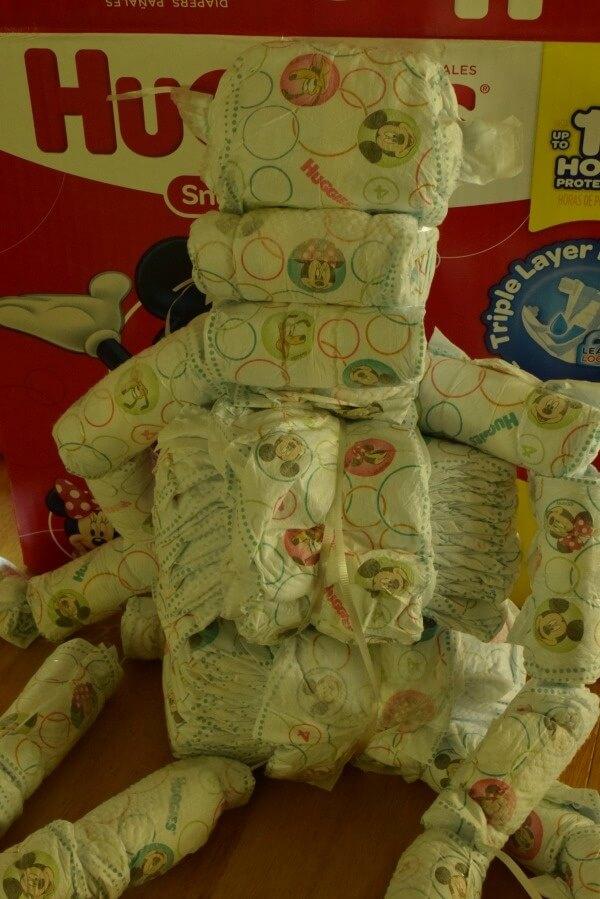 diaper monkey body