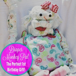 Huggies Diaper Monkey Pal #SnugHugs