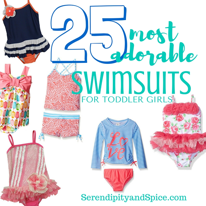 Most Adorable Toddler Girl Swimsuits
