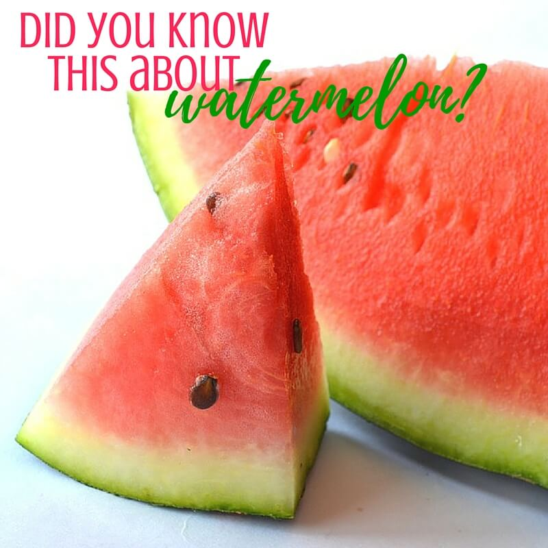 Interesting Facts About Watermelon
