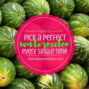 How to Pick a Good Watermelon