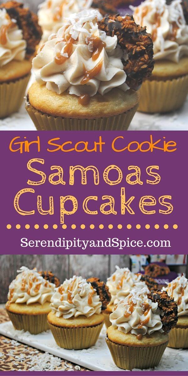 Samoas Cupcakes Recipe