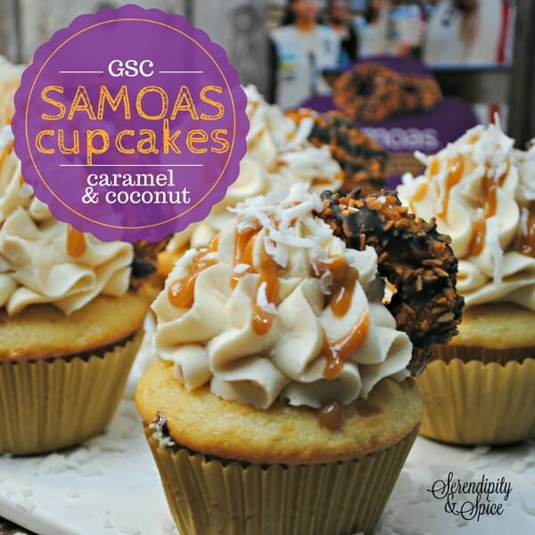 Girl Scout Samoas Cupcakes Recipe