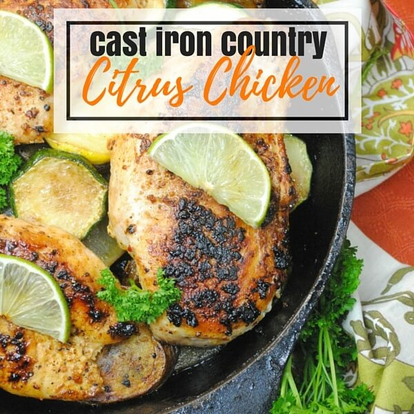 Cast Iron Country Citrus Chicken Recipe