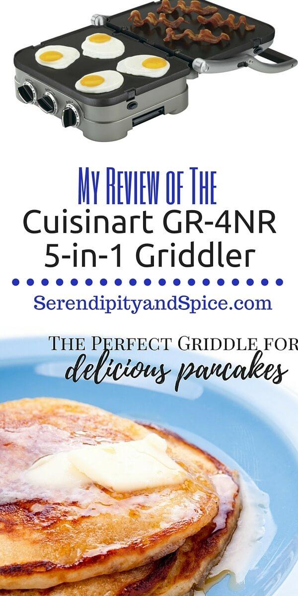 Cuisinart GR-4NR 5-in-1 Griddler Review