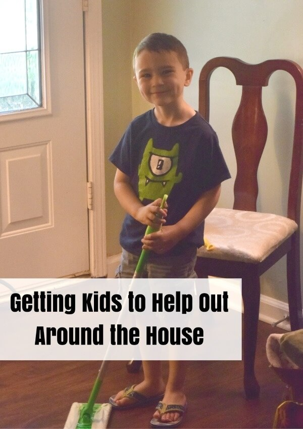 Getting Kids to Help Out Around the House