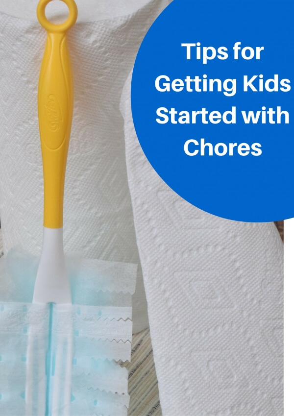 Tips for Getting Kids Started with Chores