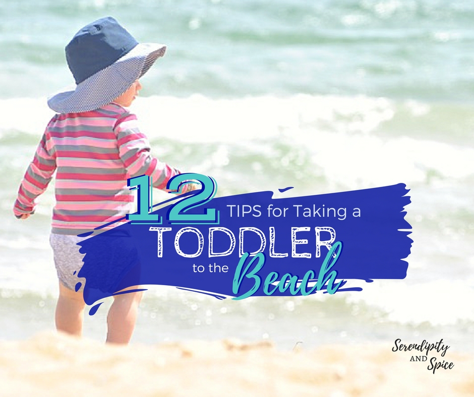 Tips for taking a toddler to the beach
