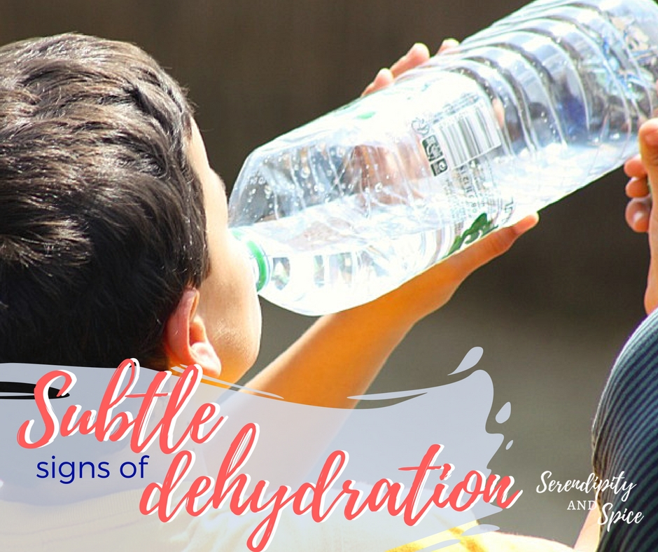 Signs of dehydration to watch for