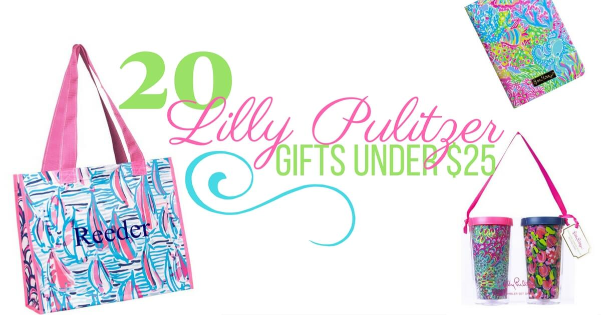 Lilly Pulitzer Gifts Under $25