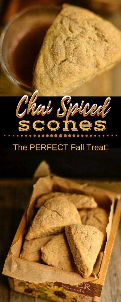 Chai Spiced Scones Recipe