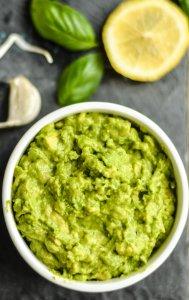 Avocado Pesto Dip – Game Day Appetizer