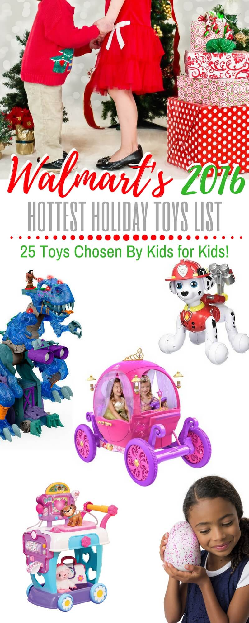 Toys For Holidays : Walmart s chosen by kids top holiday toys list