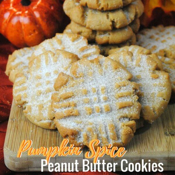 Pumpkin Spice Peanut Butter Cookie Recipe