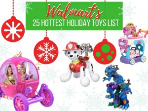 Walmart's Chosen By Kids TOP Holiday Toys List 2016