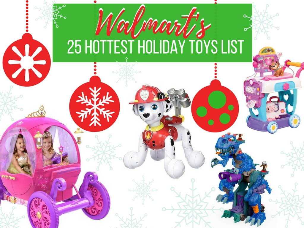 Hottest Christmas Toys : Walmart s chosen by kids top holiday toys list