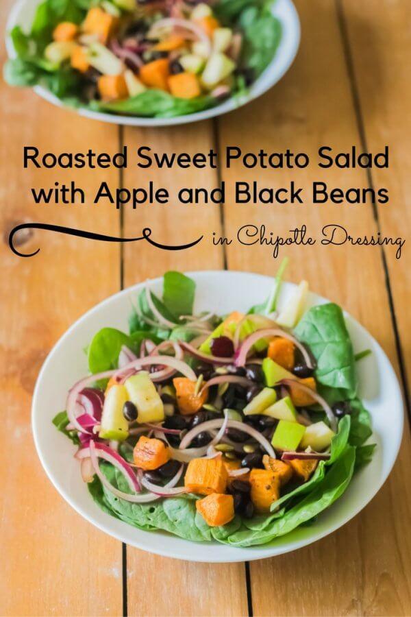 Roasted Sweet Potato Salad