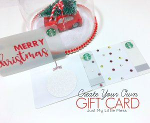 Design Your Own Starbucks Gift Cards