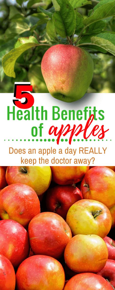 5 Health Benefits of Apples