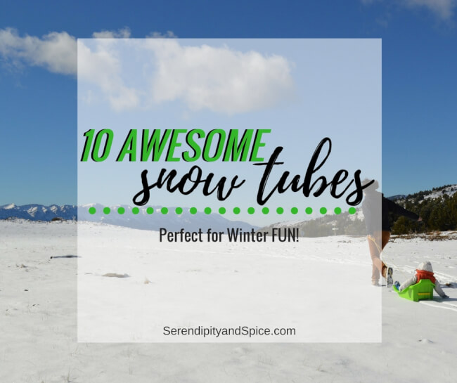 10 Most Awesome Snow Tubes