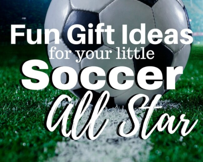 Gift Ideas for Your Little Soccer Player