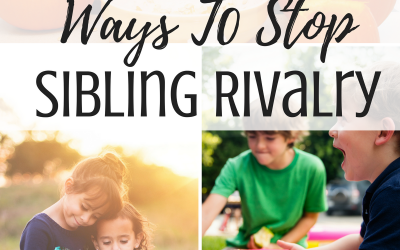 8 Ways To Stop Sibling Rivalry