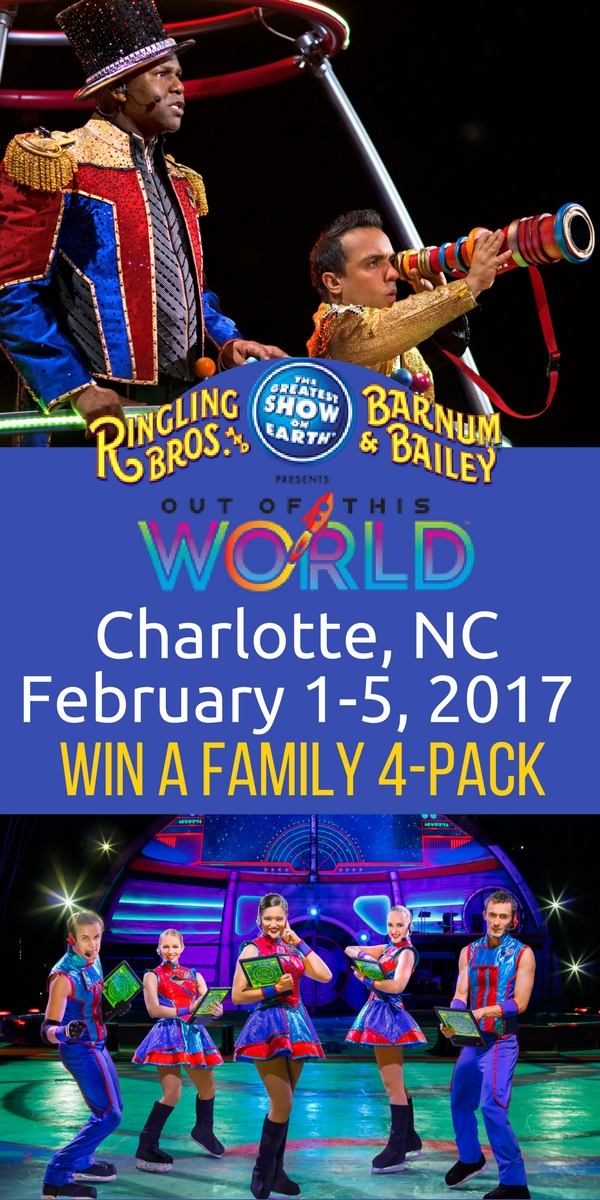 Ringling Brothers Barnum and Bailey Circus in Charlotte