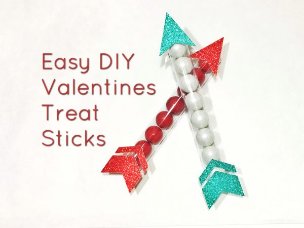Easy DIY Valentines Treat Sticks