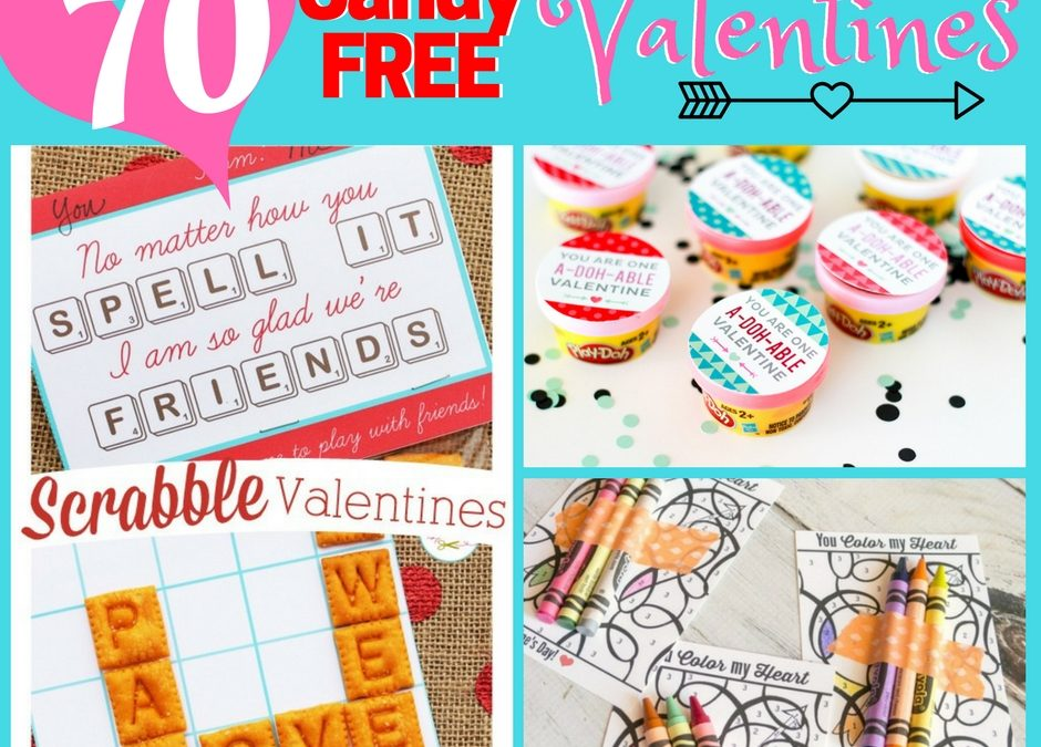 Non-Candy Valentine Card Ideas