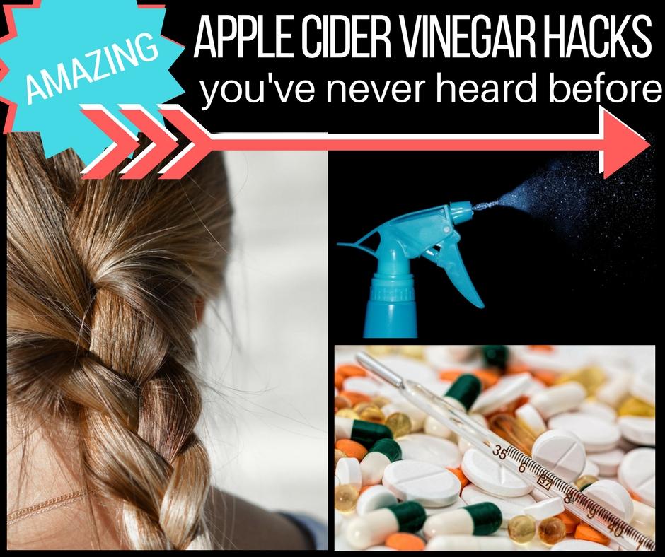 Apple cider vinegar hacks you've never thought of before