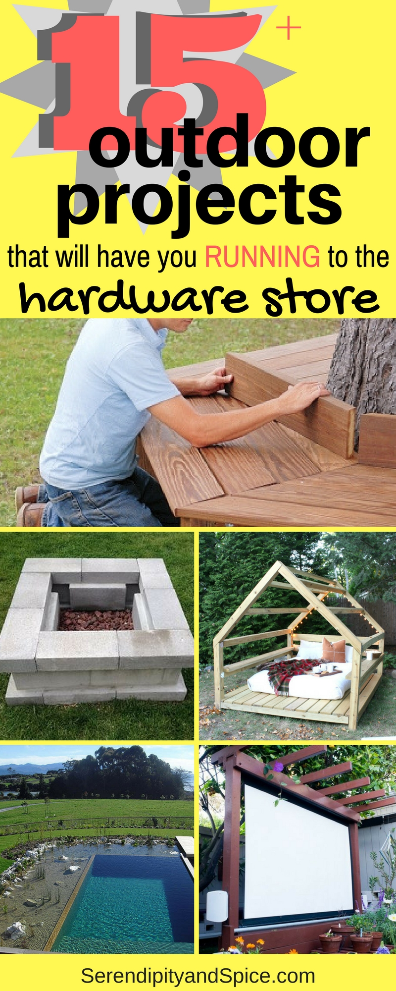DIY outdoor projects that are amazing and will make your summer epic!