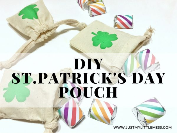 St. Patrick's Day Pouch + Rainbow Nugget Wrappers