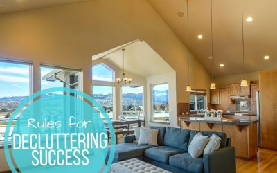 6 Rules for Decluttering Success