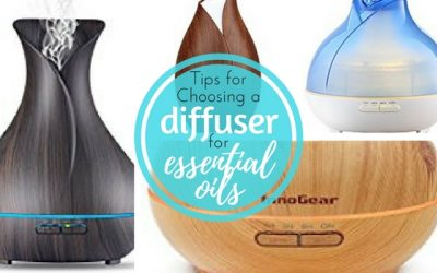 Using a Diffuser for Essential Oils
