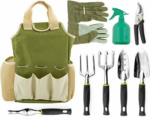 Vremi Horticulture Helper 9 Pcs Garden Tools Set Serendipity And