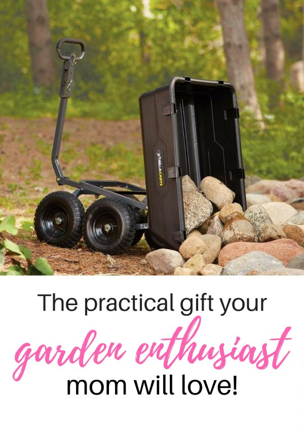 Does your mom love to garden? Get her a practical gift that she'll love and will know it came straight from the heart.