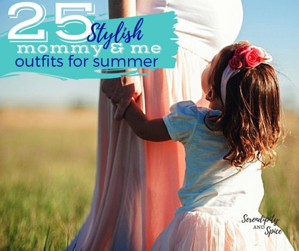 25 Stylish Mommy and Me Outfits for Summer