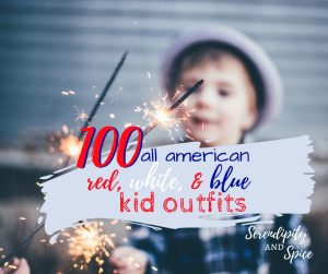 100 Patriotic Outfits for Kids for Independence Day Style