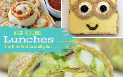 School Lunch Ideas Kids Will Eat
