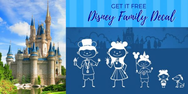 Free Disney Stick Figure Family Decal – LIMITED TIME