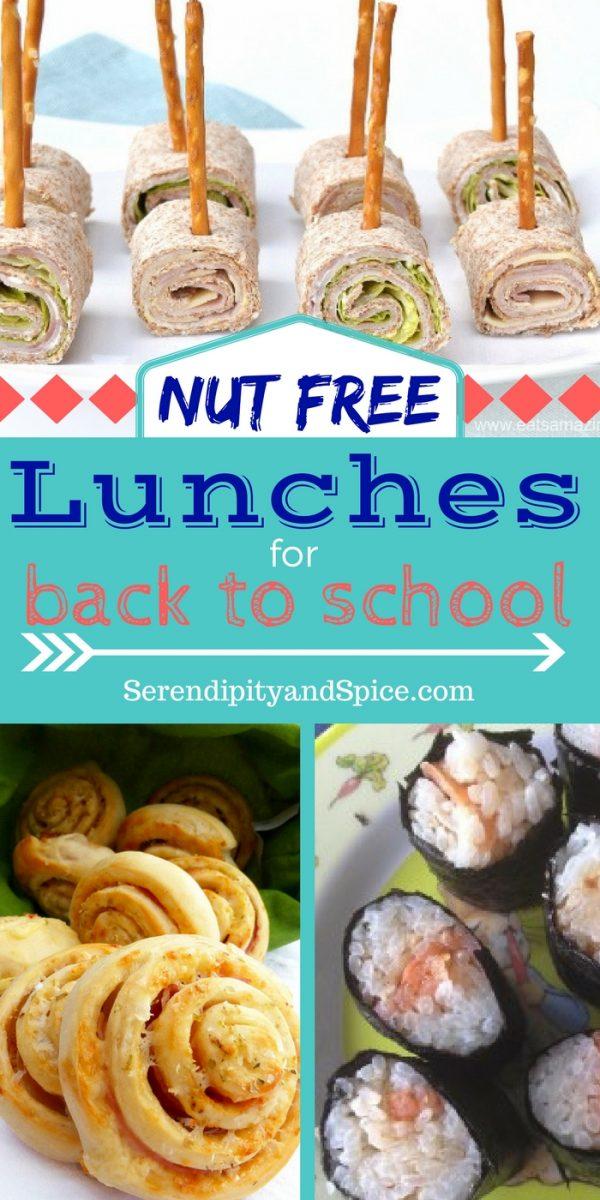 Nut free school lunch ideas for kids serendipity and spice nut free lunch ideas forumfinder Gallery