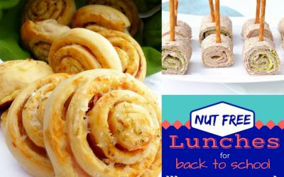 Nut Free Lunch Ideas for Back to School