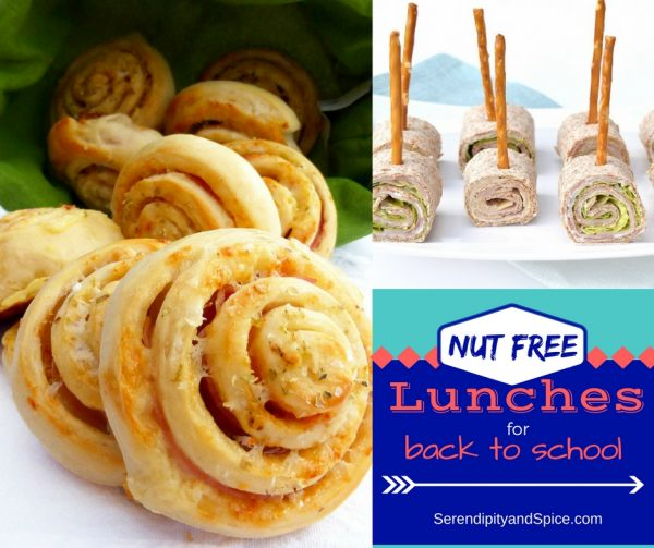 Nut Free School Lunch Ideas for Kids