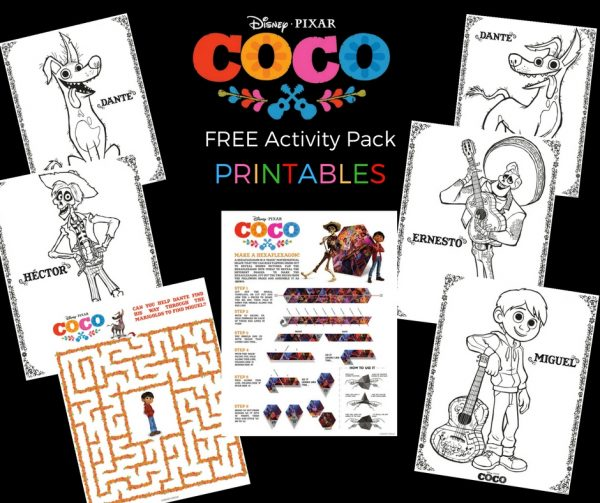 Free: Disney's COCO Printable Activity Pack