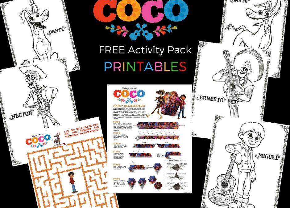 Free: Disney's COCO Printable Activity Pack
