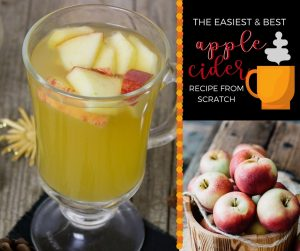 How to Make Homemade Apple Cider
